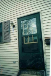Door Problems Rotted Storm Door 1