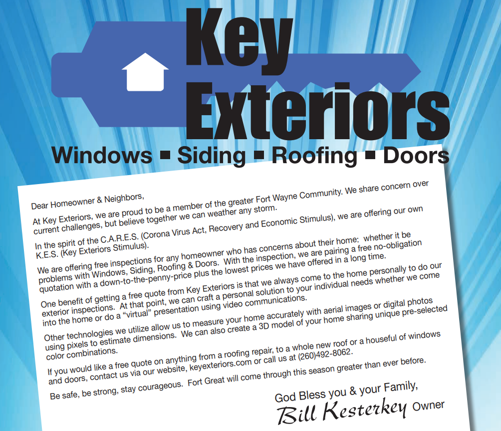 key exteriors services Lima, OH